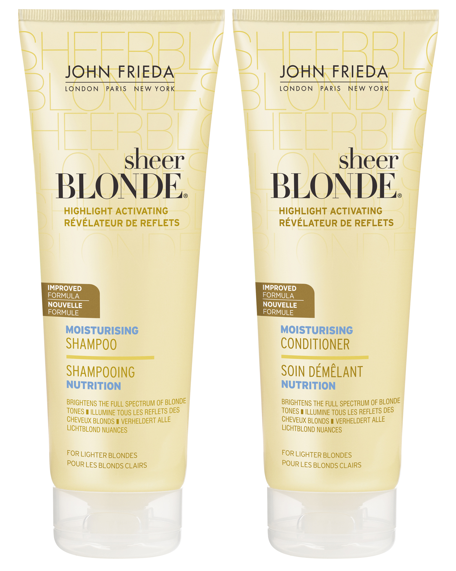 My World Of Shampoo Part Iii John Freida Sheer Blonde