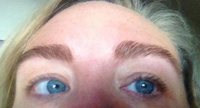 Eyebrow Dye I Did Bright Amp Beautyfull