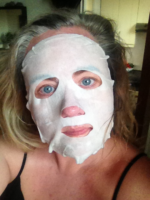 OLAY mask