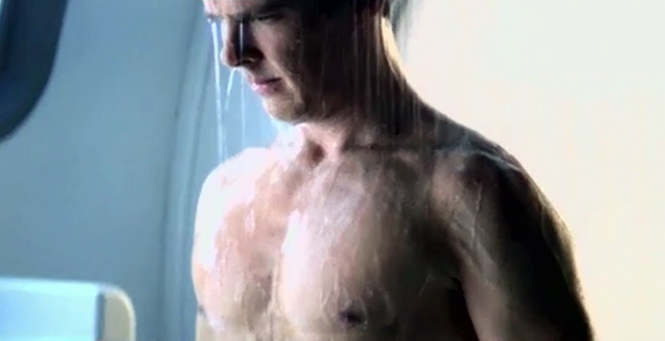 B CUMBERBATCH DUDE WEEK SHOWER