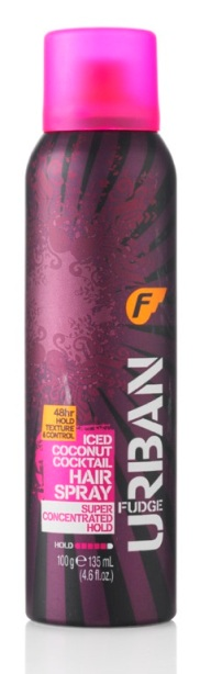 Fudge Urban Iced coconut Cocktail Mega Hold Hairspray €7.99