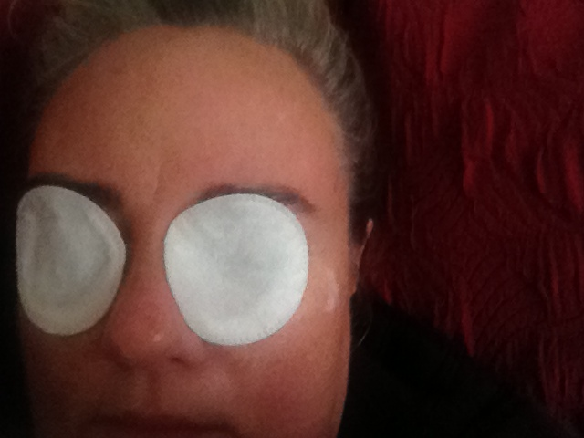 CLARINS EYE MASK selfie