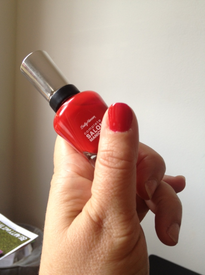 SALLY HANSEN Right Red Fred