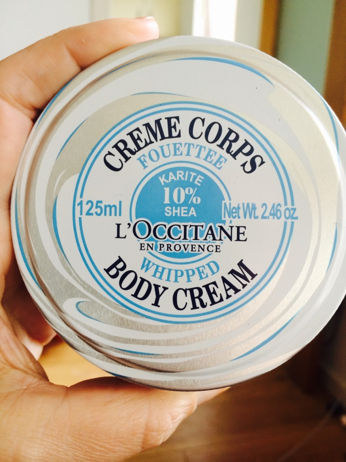 L'OCCITANE FOUETTE body