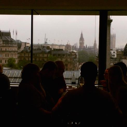 Fog + Rain + Big Ben = London