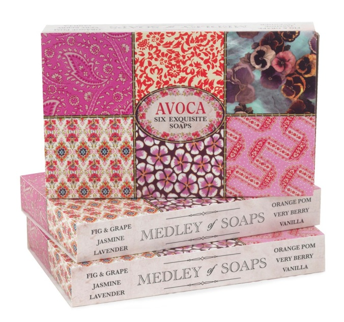 Avoca Medley of Soaps €17.50
