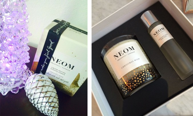NEOM candle and gift set
