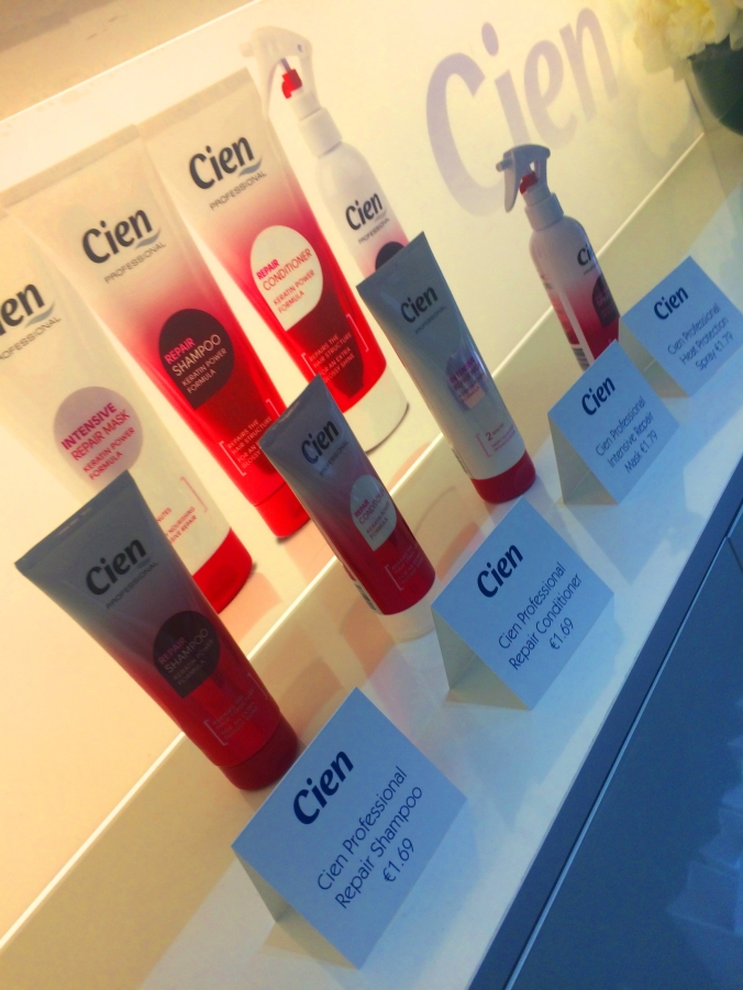 CIEN haircare launch